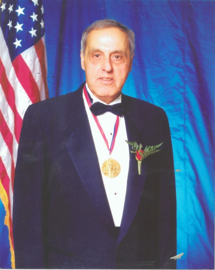 George Randazzo, who received the Ellis Island Medal of Honor in 2004, is the founder of the National Italian American Sports Hall of Fame.