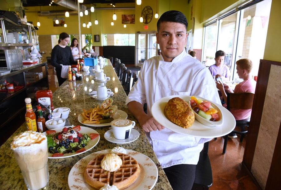 Chef and owner Jose Jasso recently opened a new Garden Berry Cafe location in Buffalo Grove.