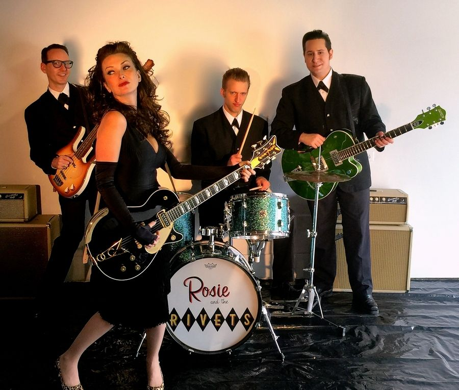 Rosie & The Rivets will perform at the Dundee Township Park District's Concerts in the Park series, held in conjunction with East/West Dundee Police National Night Out, on Tuesday, Aug. 6.