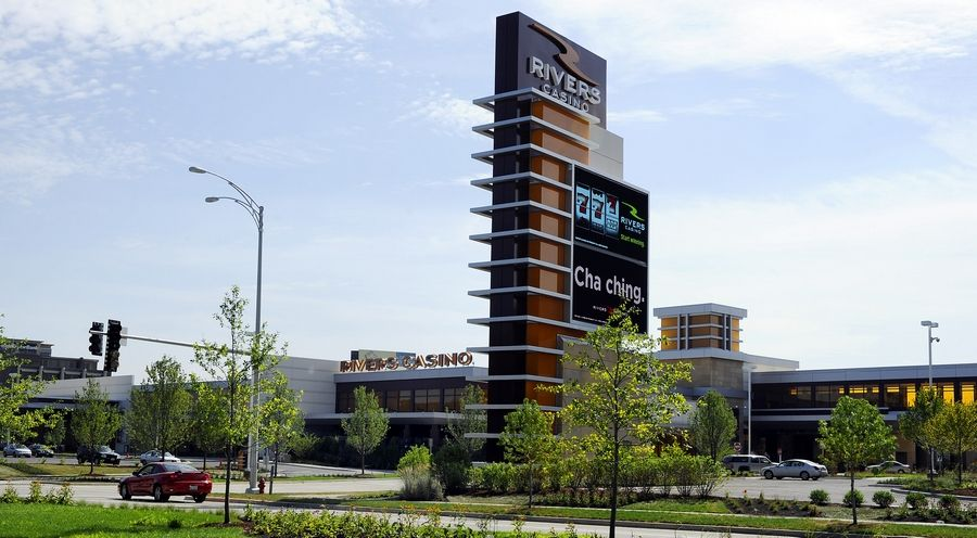 Churchill Downs CEO Bill Carstanjen Thursday discussed plans for the physical expansion of Rivers Casino in Des Plaines to accommodate its higher gaming capacity under Illinois' new gambling expansion bill.