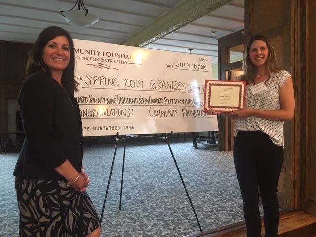 Community Foundation of the Fox River Valley awards Equine Dreams