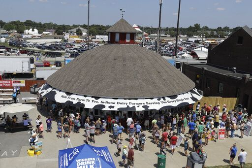 Indiana State Fair beginning annual 17 days of activities