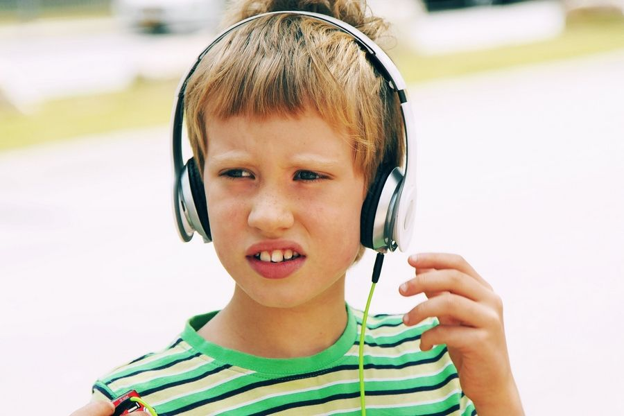 A 15-minute break with noise-blocking ear phones can help your child relax and get ready to return to the party.