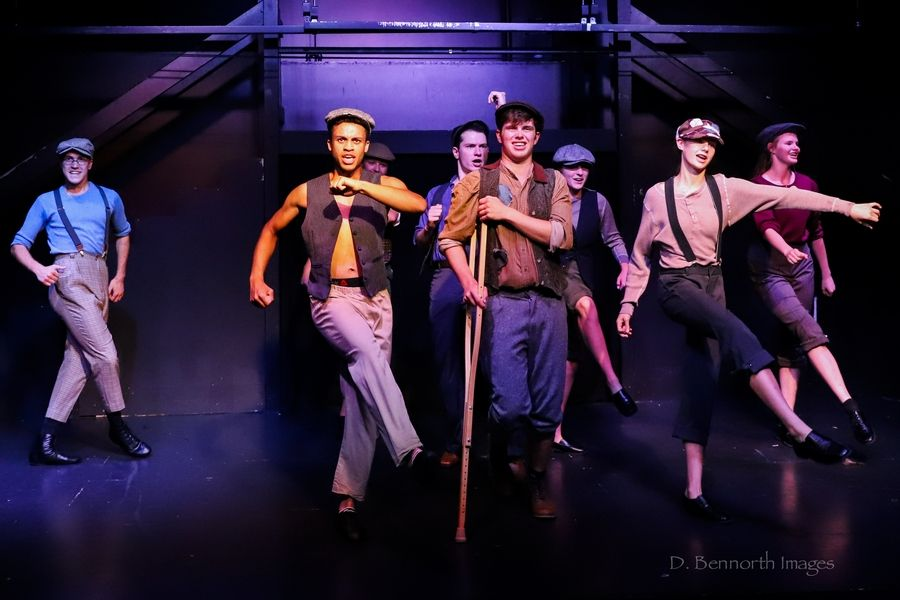 "Marquee Mainstage Productions will present the musical ""Newsies"" Aug. 9-11 at the Hemmens Cultural Center in Elgin."