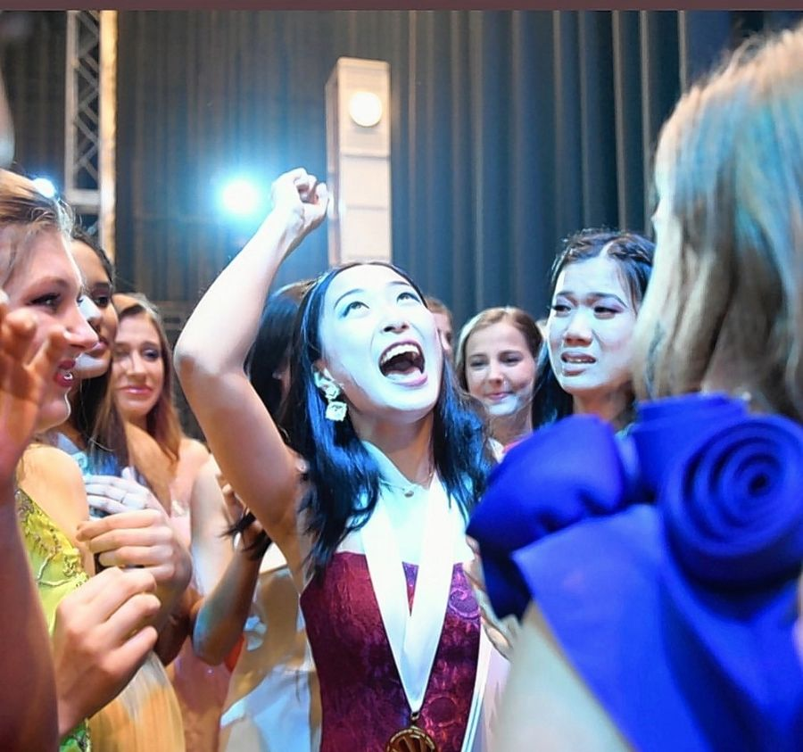 Dora Guo emerged from a pool of 3,000 high school girls to win the Distinguished Young Woman of America competition this summer.
