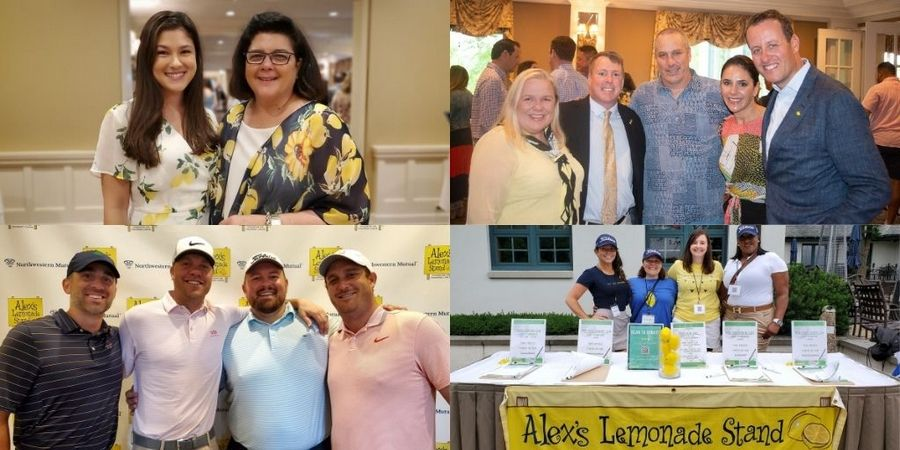 The signature fundraising event to support Alex's Lemonade Stand Foundation was held at Glen Oak Country Club in Glen Ellyn.