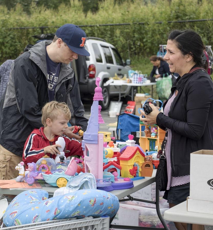 The community can search for treasures at the popular HEParks Community Garage Sale Saturday, Sept. 7 at Seascape Family Aquatic Center.