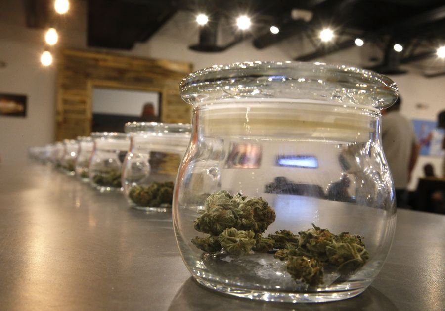 Wheaton officials are considering a ban on recreational marijuana sales within the city.