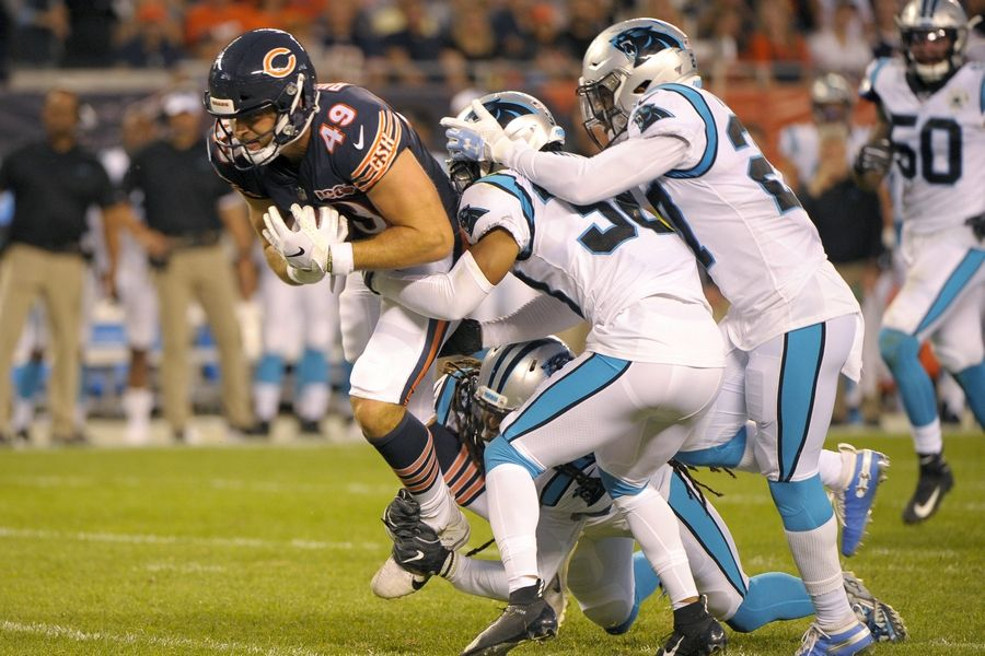 Not much to take from Chicago Bears preseason opener