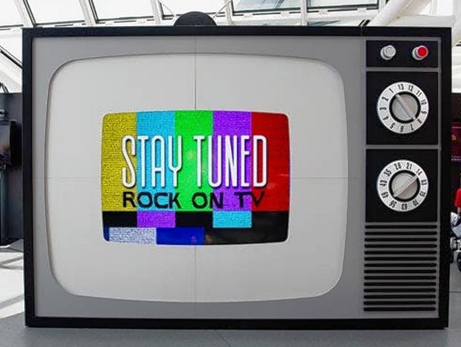 "Created in 2018 by the Rock & Roll Hall of Fame in Cleveland, ""Stay Tuned: Rock on TV"" will open October 18 for a six-month run at Chicago's Museum of Broadcast Communications."
