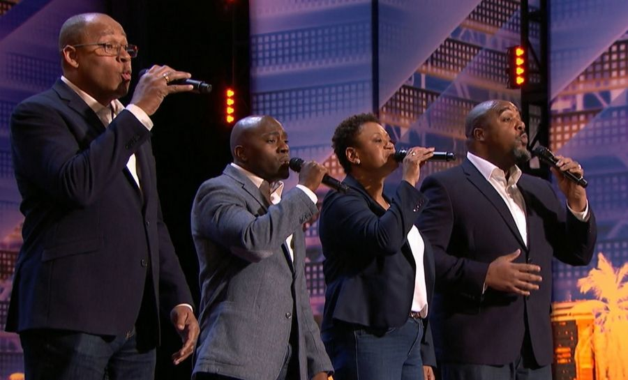 "The ""Voices of Service"" quartet perform on ""'America's Got Talent."" Now in its 14th season, the NBC show is the rarest of summer phenomena: a hit."