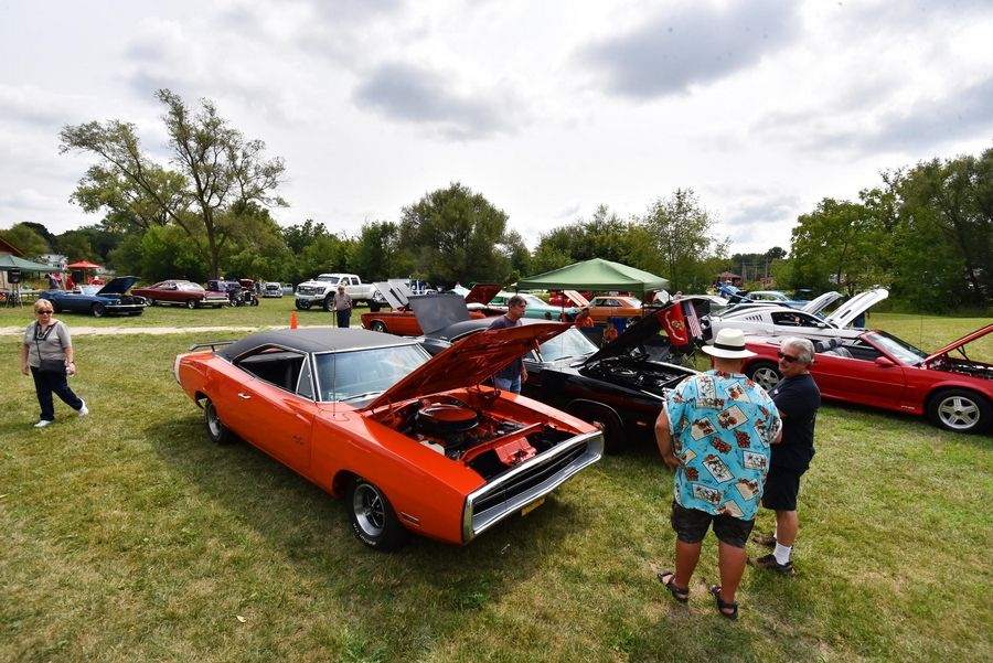 Several dozen show cars and trucks were on display at last year's South Elgin Riverfest Express.