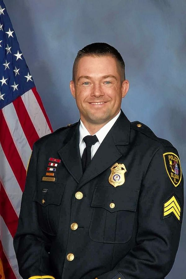 Elgin police Lt. Christian Jensen has been on administrative leave since the March 12 shooting of Decynthia Clements.