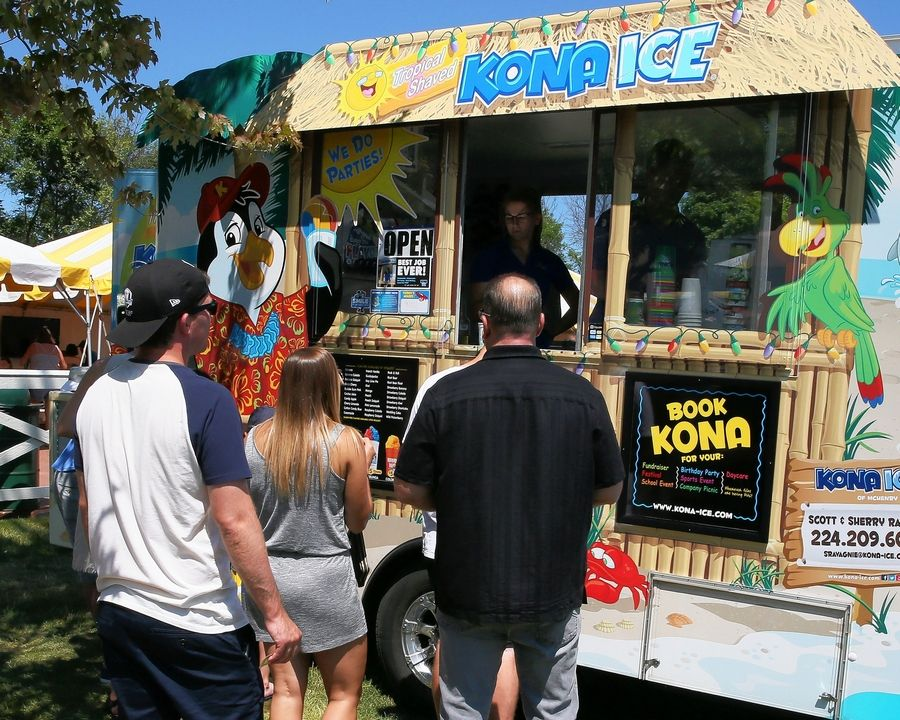 Kona Ice will be one of the food vendors at the Wheeling International Festival on Sunday, Aug. 18.