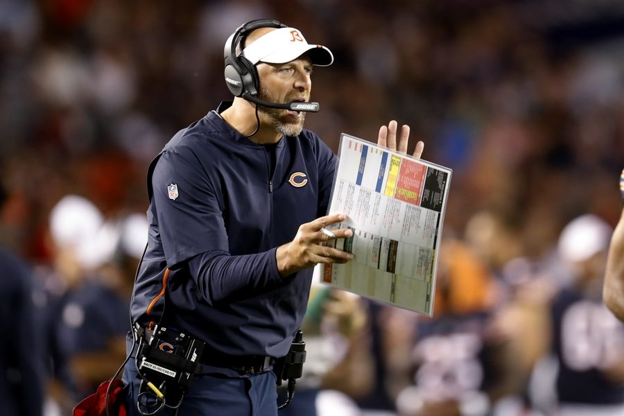 "Chicago Bears coach Matt Nagy talked about the importance of having Bobby Massie back. ""There's scenarios where guys sacrifice maybe a little bit of money to be here with guys they want to play with, coaches they want to play for, an organization they want to be part of. That's just who (Massie) is, and I think it speaks volumes about him."""