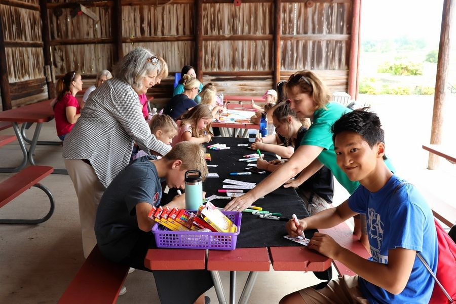"Youth can join in craft activities at Geneva Park District's ""Back to School Festival"" on Saturday, Aug. 17."