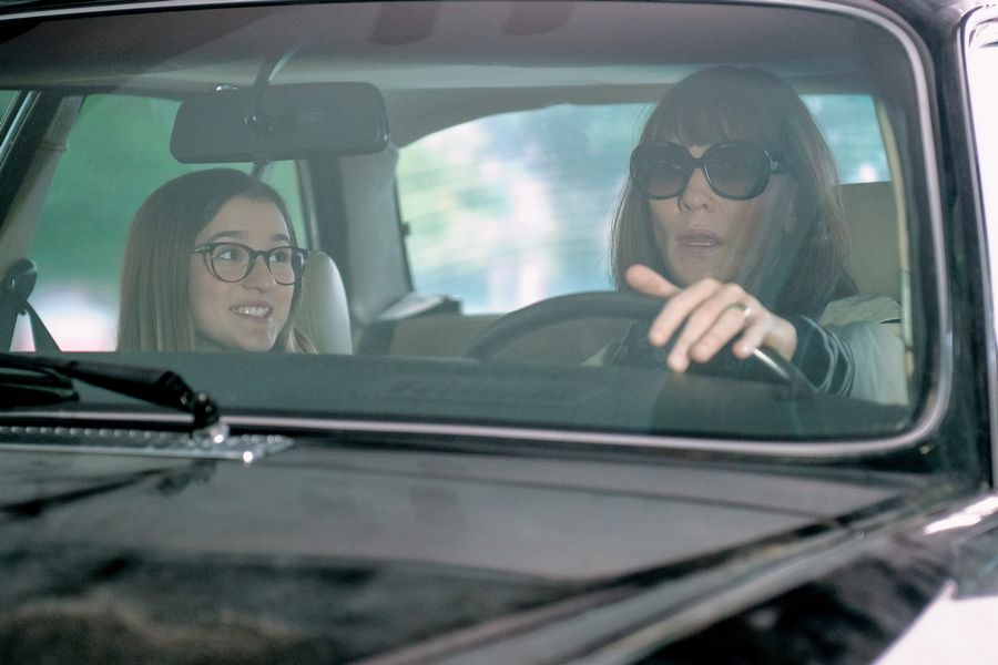 "Barrington teen Emma Nelson stars as Bee and Cate Blanchett as her conflicted mom in Richard Linklater's ""Where'd You Go, Bernadette."""