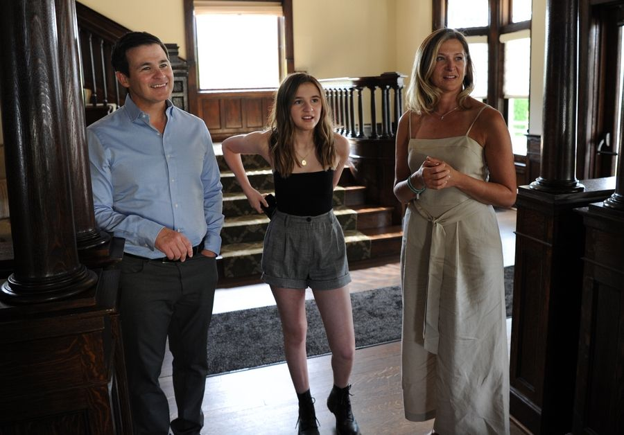 """Where'd You Go, Bernadette"" star Emma Nelson says she learned from both her parents. Dad Chris is the mayor of West Dundee and mom Sheryl, who lives in Barrington, owns the Goddard School in Elgin."