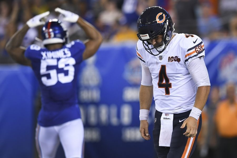 8fa34efa Highs and lows of Chicago Bears' 32-13 preseason loss to Giants