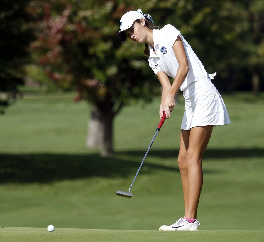 Prospect's Kelly Kavanagh, a Drake recruit, will help lead the Knights' girls golf team this fall.