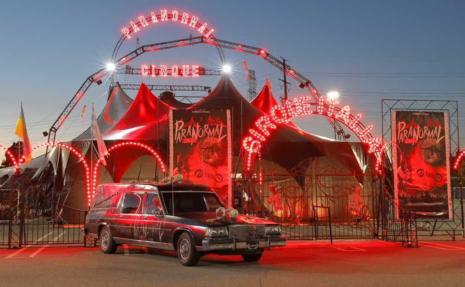 Paranormal Cirque brings its tent to North Riverside this month and Aurora in September.