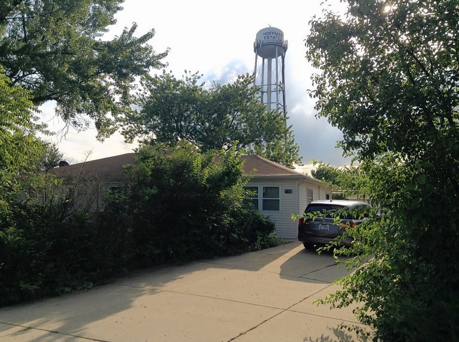 Hoffman Estates village board members Tuesday rejected a dentist's plan to rezone two residential lots, including this currently rental home, at the southwest corner of Golf Road and Apple Street for a commercial building he would share with another tenant.