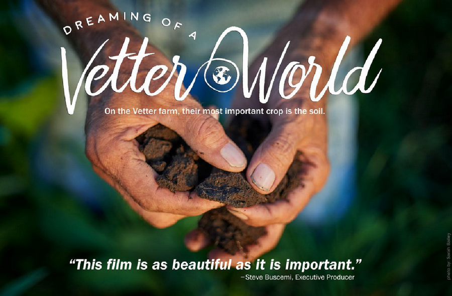 "See the 2018 documentary ""Dreaming of a Vetter World"" about David Vetter, an organic farmer who was instrumental in developing the infrastructure for the organic food production system in the U.S."