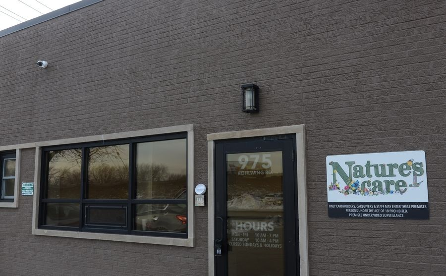 Nature's Care, a medical marijuana dispensary that opened in Rolling Meadows in 2016, is seeking permission to add recreational marijuana sales to its store on Rohlwing Road.