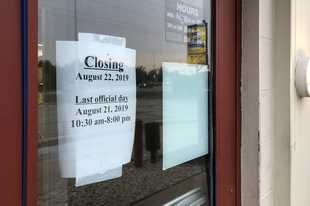 The Long John Silver's restaurant in Hanover Park will officially close at 8 p.m. Wednesday. But the doors will shut to customers as soon as the food runs out, an employee said.
