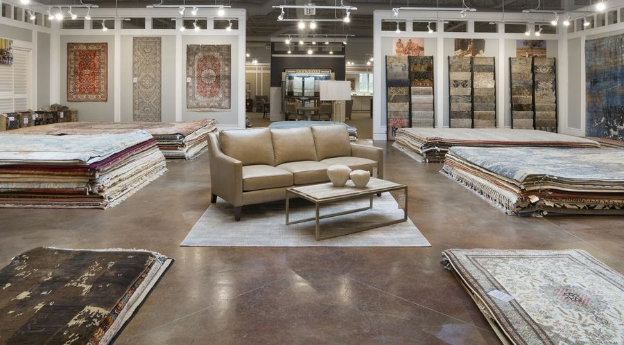 Toms Price announced the recent opening of three rug galleries at its Lincolnshire, Skokie and Wheaton locations to enhance the customer shopping experience. The Rug Studio, which carries thousands of rugs, is centrally located in each store, merchandised by price for ease in shopping.