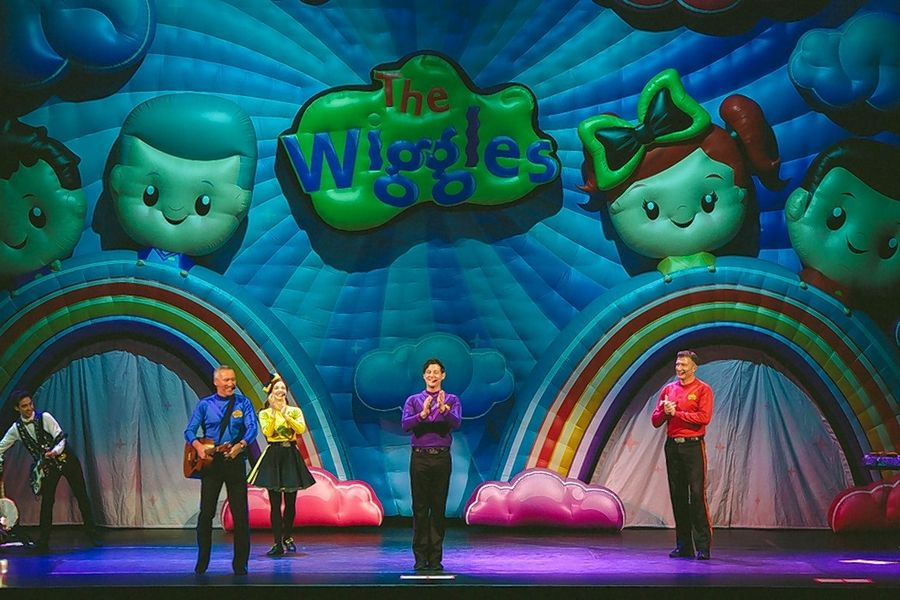 "The Wiggles return from down under for ""The Party Time Tour!"" The show makes a Rosemont Theatre stop on Saturday, Aug. 24."