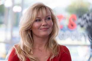 "Kirsten Dunst stars as Krystal Stubbs in ""On Becoming a God in Central Florida."""