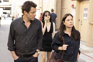 "Dominic West as Noah, Julia Goldani Telles as Whitney and Maura Tierney as Helen in ""The Affair."""