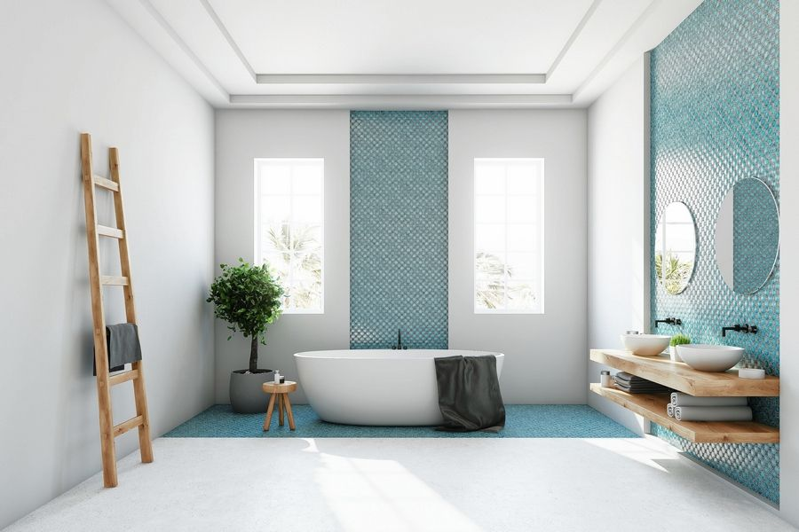 . Transform your bathroom    and treat yourself    to these trending