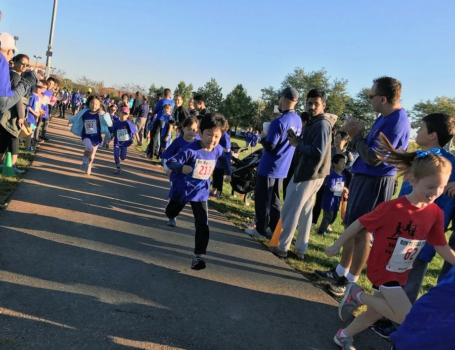 Children participate in a previously Run to Read event, hosted by School District 54. District 54 is hosting its 15th annual day of races on Sunday, Sept. 22, at Dirksen School, 116 W. Beech Drive in Schaumburg, to support literacy in the district.