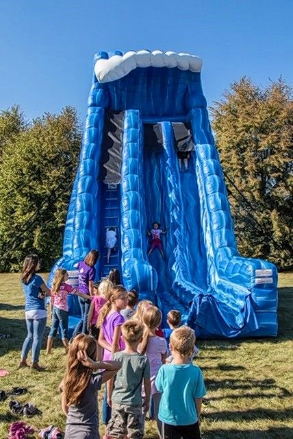 "Large inflatable obstacles are a drawing card for the ""Kid's Corner,"" one of numerous activities and attractions at the Campton United Fall Fest, now entering its ninth year. This year's fest will be held on Sept. 7."