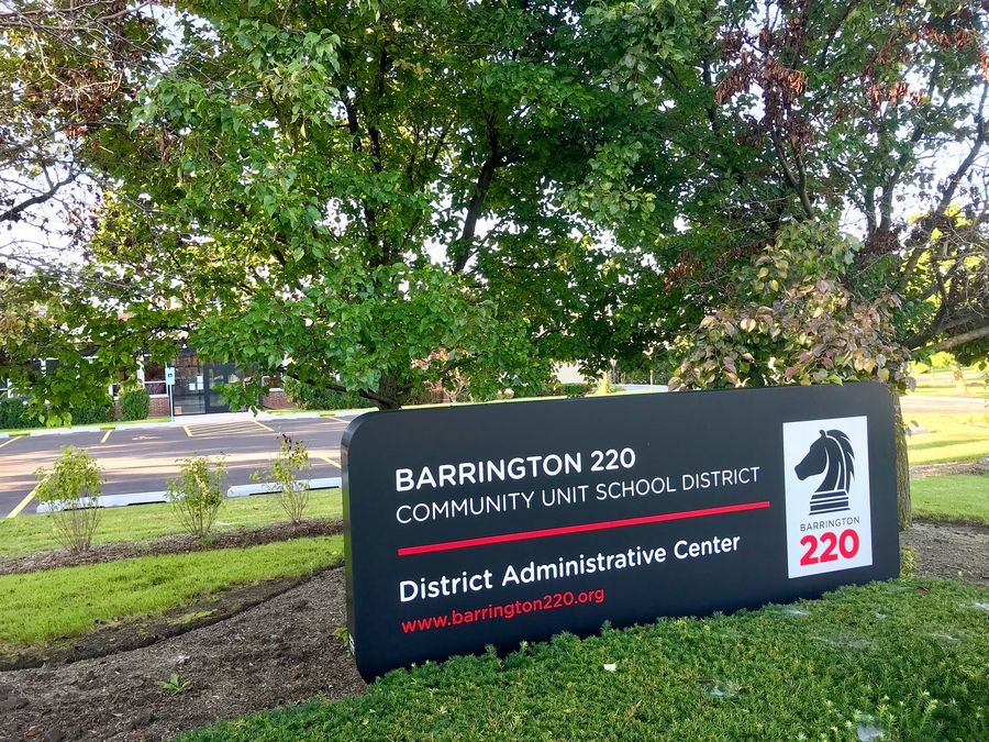 This is Barrington Area Unit District 220's administration headquarters on Main Street in the village. It's across the street from Barrington High School.