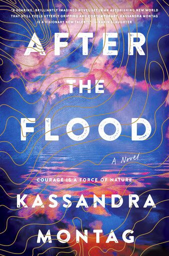 "This cover image released by William Morrow shows ""After the Flood,"" a novel by Kassandra Montag. (William Morrow via AP"