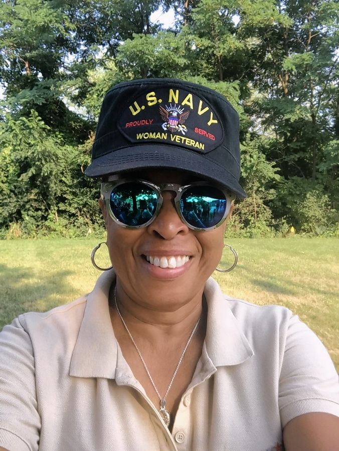 Mary Roberson, a licensed clinical professional counselor, helps other veterans through her work with the Lake County Veterans and Family Foundation. She will participate in Saturday's Ruck March through Lake County to draw attention to veteran suicides.