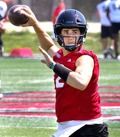 Quarterback Ross Bowers leads the Northern Illinois Huskies into Saturday's game at Utah.