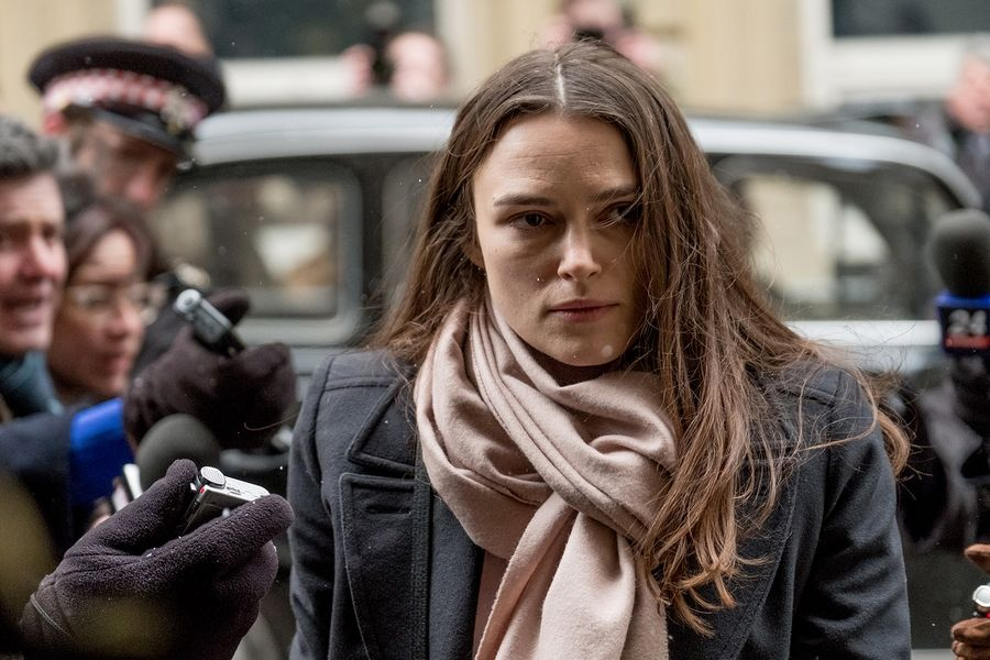 "Katharine Gun (Keira Knightley) discovers things she can't keep hidden in the espionage thriller ""Official Secrets."""
