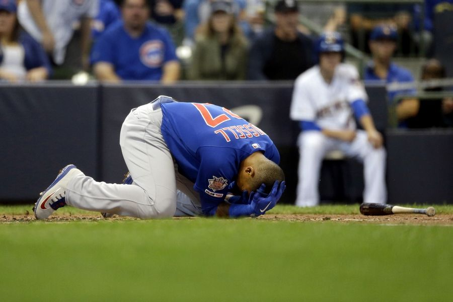 Chicago Cubs fade in NL Central with third straight loss