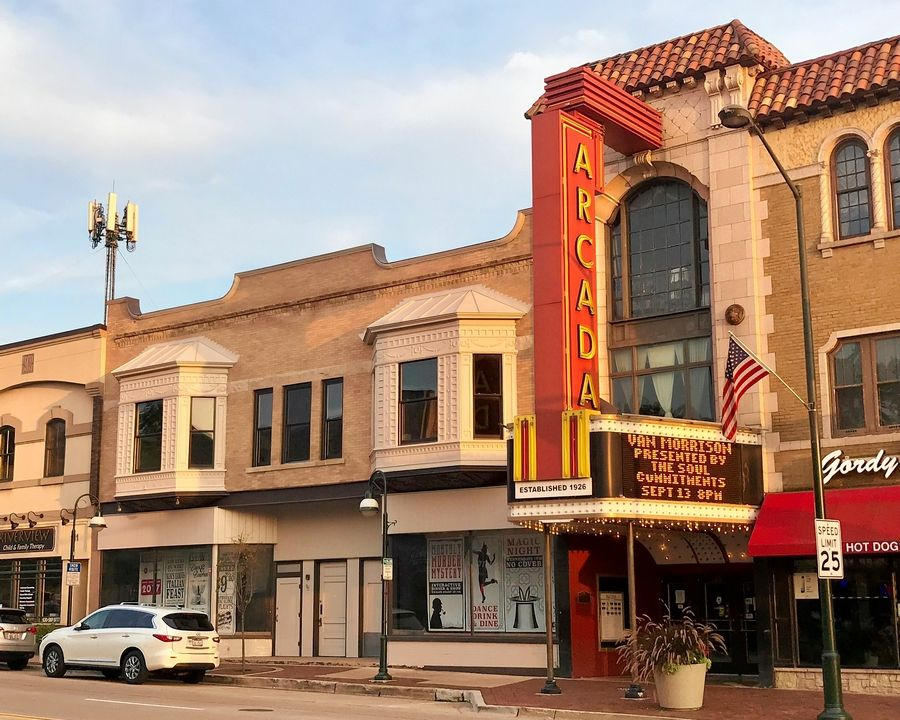The new owners of the Arcada Theatre in downtown St. Charles plan to incorporate an adjacent building, the former George's Sport Center, into their renovation plans for the historic theater.