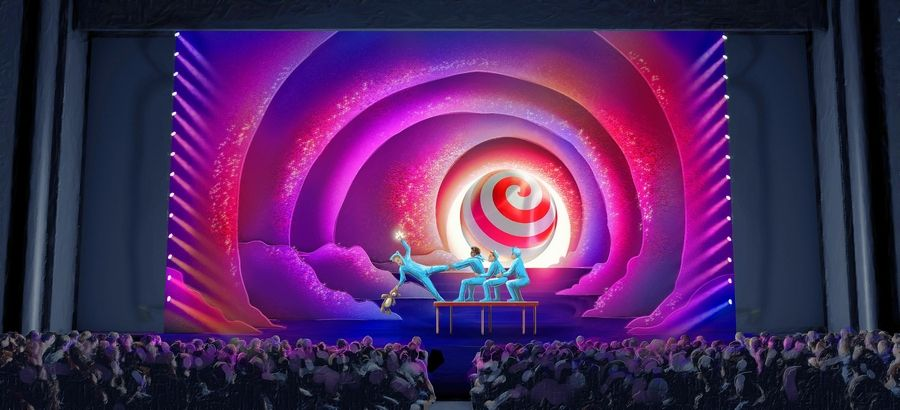 "Cirque du Soleil debuts its family-friendly, holiday-themed show ""'Twas the Night Before ..."" in Chicago in November."