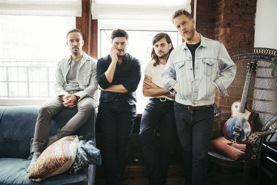 Mumford & Sons and Local Natives play the Saturday, Dec. 14, show of 101-WKQX's The Nights We Stole Christmas at the Byline Bank Aragon Ballroom. Tickets are on sale this week.