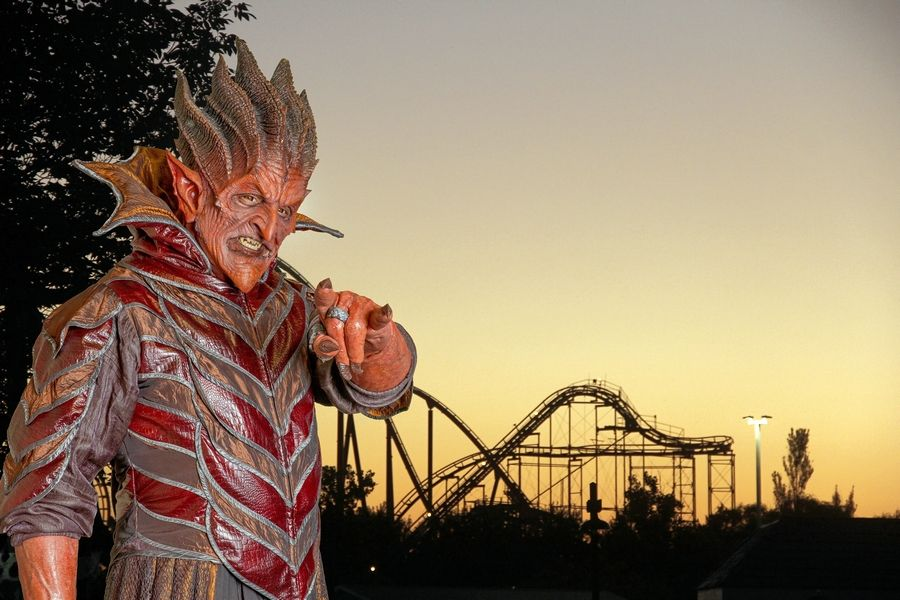 Haunted houses and creepy creatures are all part of Fright Fest at Six Flags Great America.