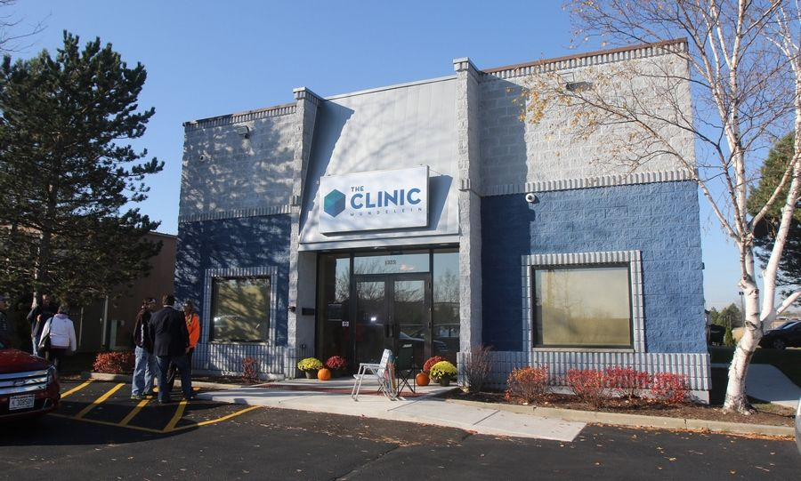 The Clinic Mundelein is one of several medical marijuana dispensaries operating in Lake County. Its parent company has acquired a license for recreational sales there, but village officials haven't yet decided if they'll allow such transactions.