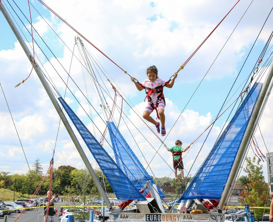 The Euro Bungy was an attraction at a previous Fallapalooza in Heritage Park in Wheeling.
