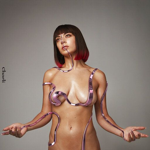 "This cover image released by Atlantic Records shows ""Charli,"" a release by Charli XCX. (Atlantic Records via AP)"