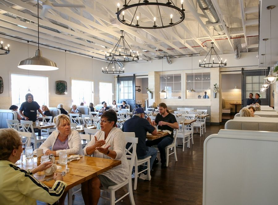 The new Southern Café in Roselle has a down-home feel to it.